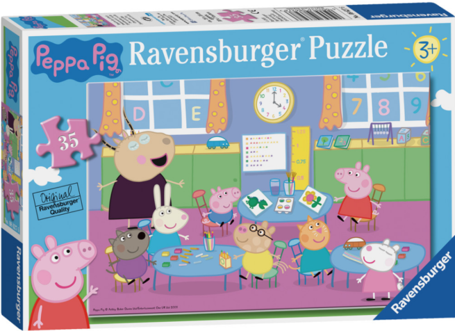 Peppa Pig Classroom Fun 35pc Jigsaw