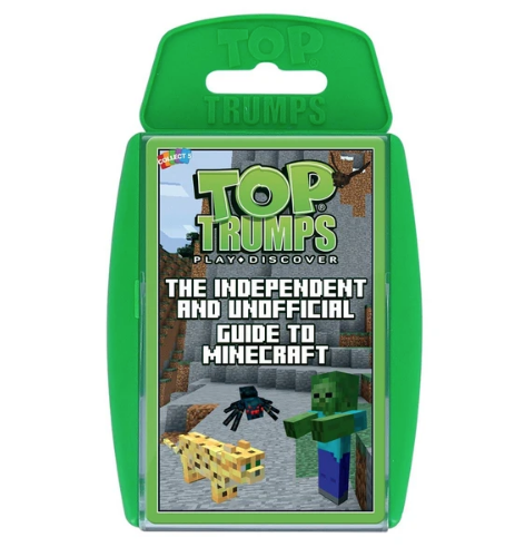 Independent & Unofficial Guide to Minecraft Top Trumps