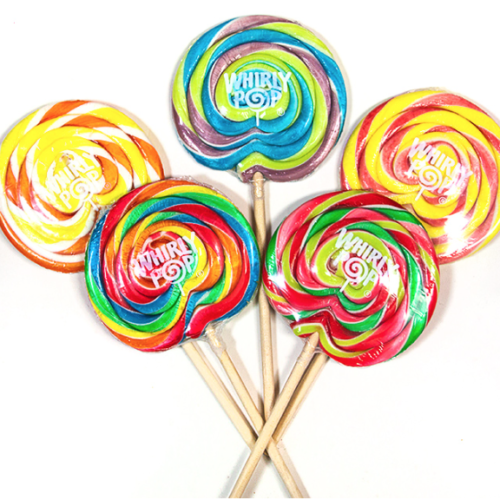 Whirly Pops 42g Assorted
