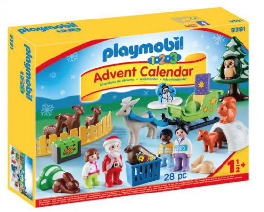 Playmobil 1.2.3 Advent Calendar – Christmas in the Forest