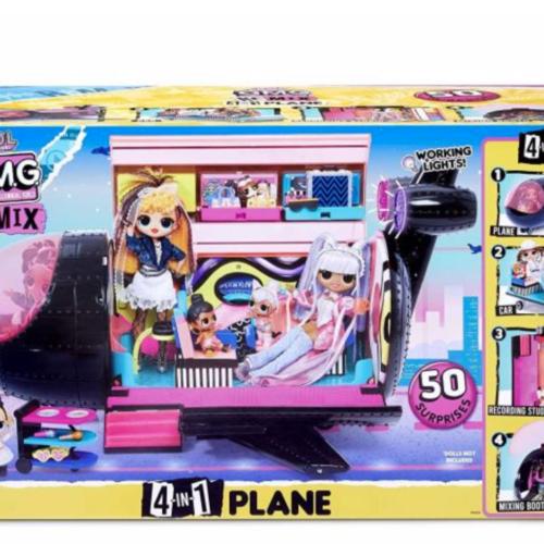 L.O.L. Surprise! O.M.G. Remix 4-in-1 Plane Playset