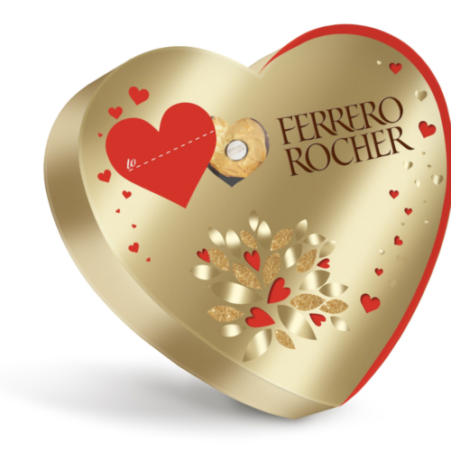 Ferrero Rocher Heart Box 125g
