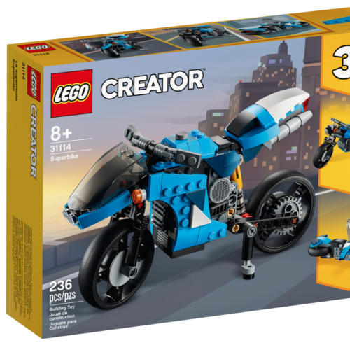 Creator 3-in-1 Superbike