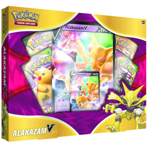 Pokémon Trading Card Game: Alakazam V Box