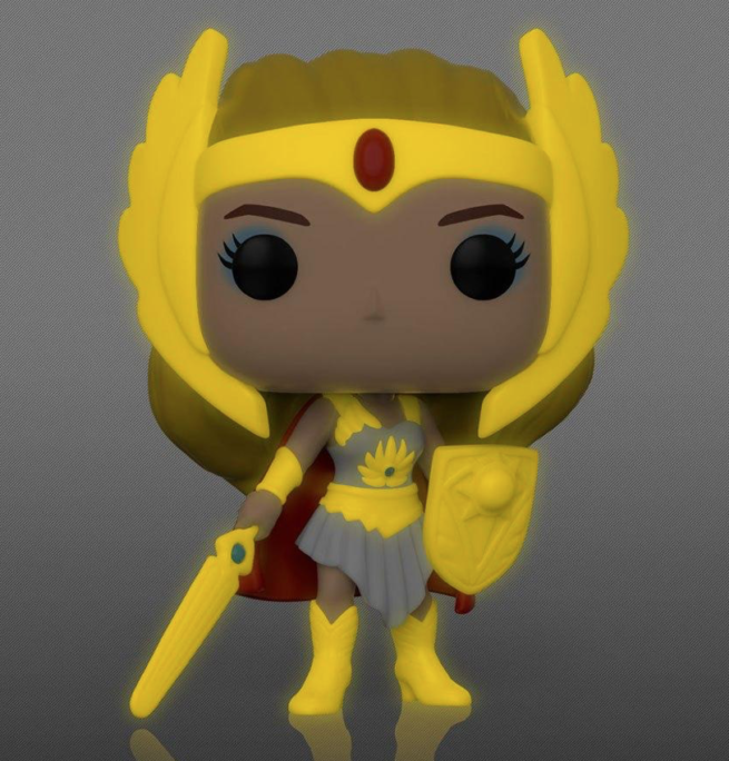 POP! MASTERS OF THE UNIVERSE SHE-RA 38 GLOW IN THE DARK SPECIAL EDITION