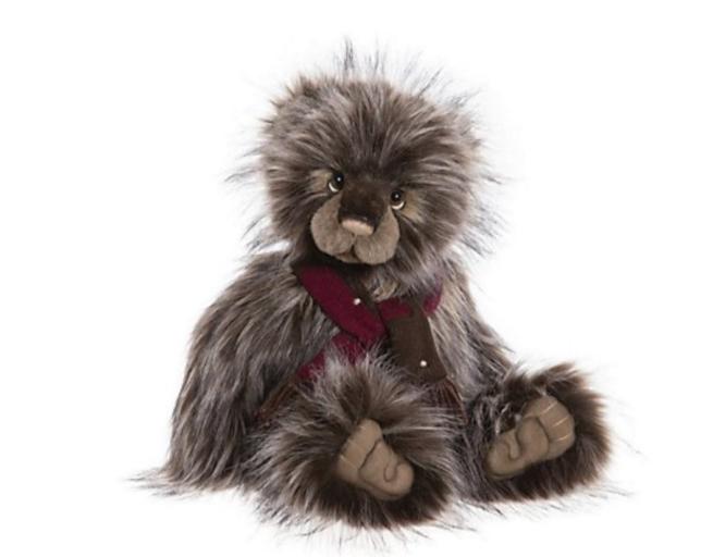 "Charlie Bears Collectable Fritz 18.5"" Plush Bear"