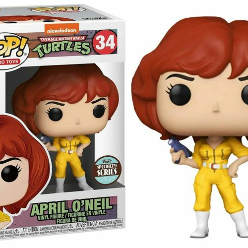 Funko Teenage Mutant Ninja Turtles POP! Retro Toys April O'Neil Exclusive Vinyl Figure #34